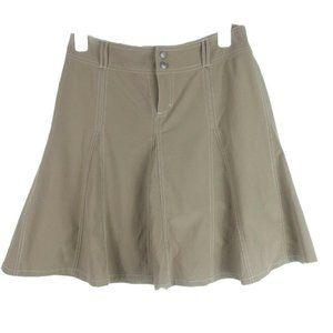Athleta Whatever Pleated Full A-Line Skort Skirt